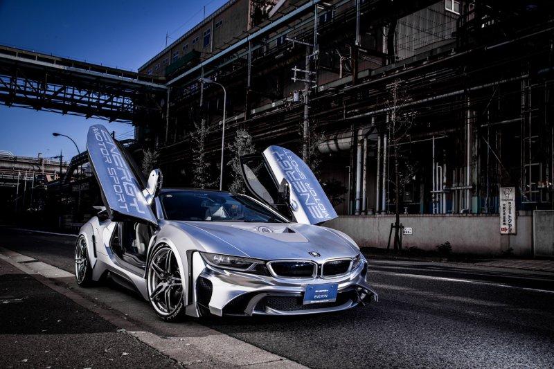 BMW i8 в обвесе от Energy Motor Sport