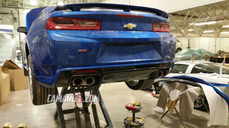 Chevrolet Camaro SS 2016 в новом обвесе