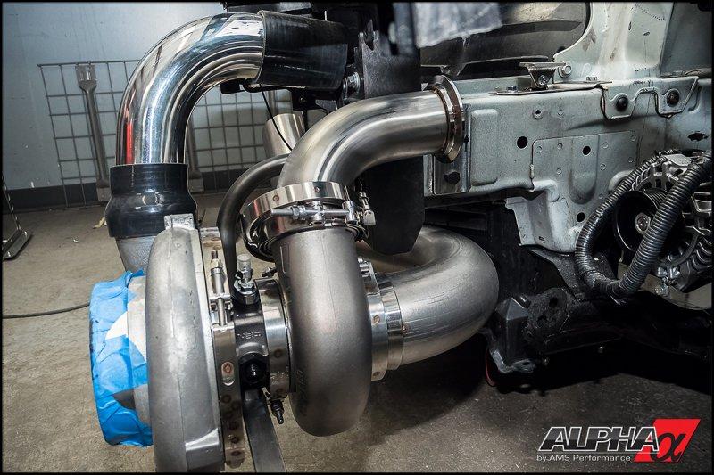 AMS анонсировала 2500-сильный Nissan GT-R Alpha G