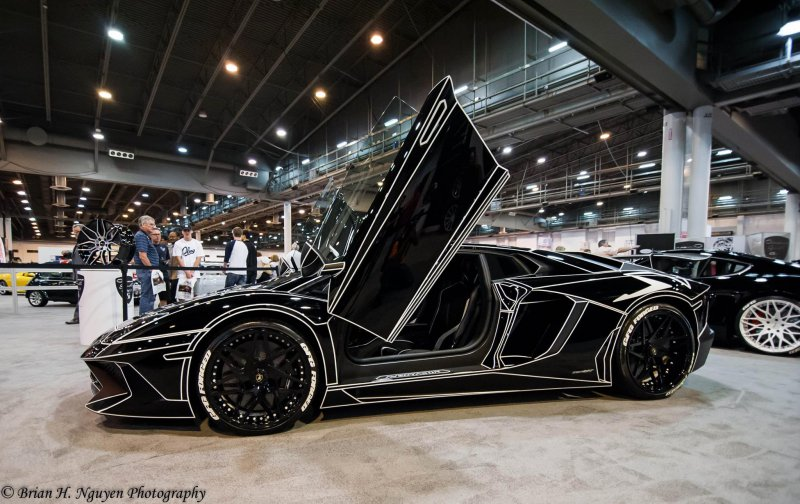 Lamborghini Aventador Tron от Giovanna Wheels