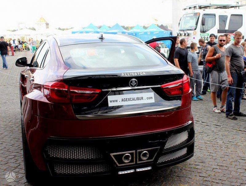 BMW X6 от литовской компании AG Excalibur