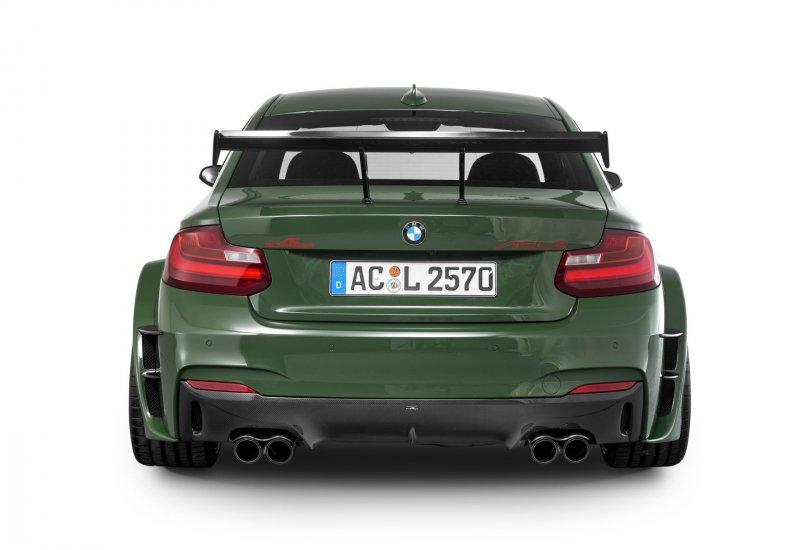 Гоночный BMW M235i ACL2 от мастеров из AC Schnitzer