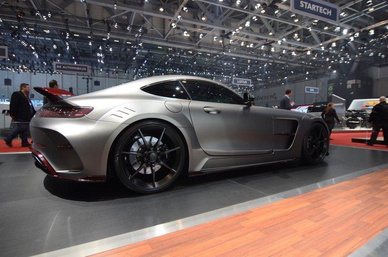 Женевский автосалон 2016: Mercedes-AMG GT S от Mansory