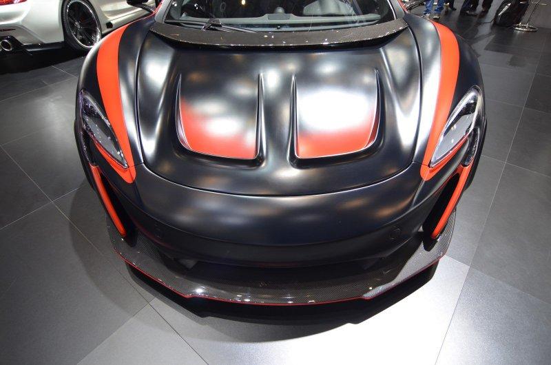 Женевский автосалон 2016: McLaren 650S VAYU GTR от FAB Design