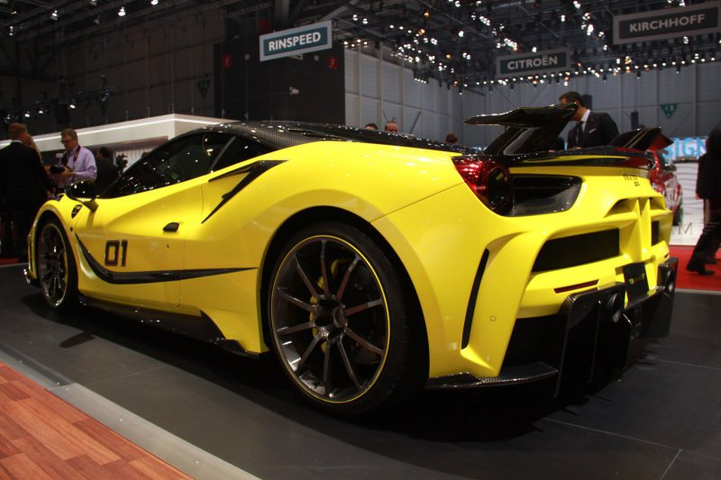 Женевский автосалон 2016: Ferrari 4XX Siracusa от Mansory