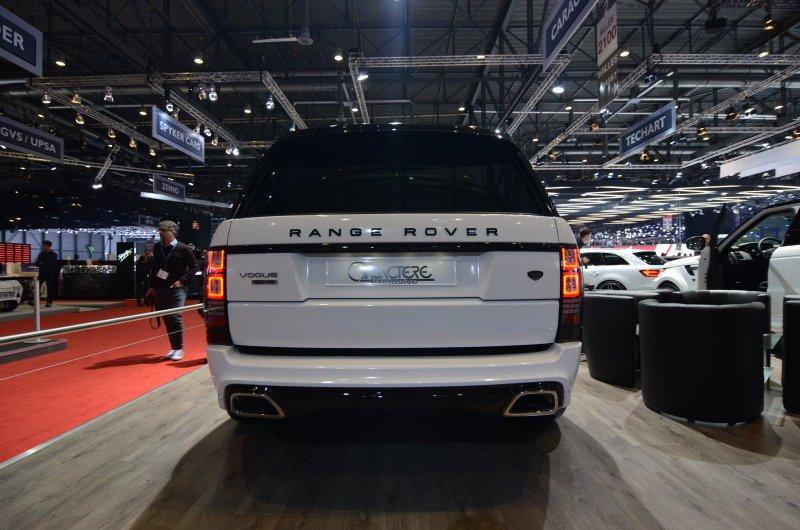 Женевский автосалон 2016: Range Rover от Caractere Exclusive