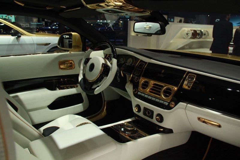 Женевский автосалон 2016: Rolls-Royce Wraith Palm Edition 999 от Mansory