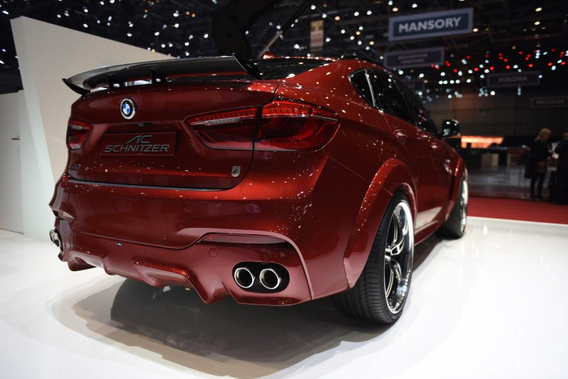Женевский автосалон 2016: BMW X6 Falcon от AC Schnitzer