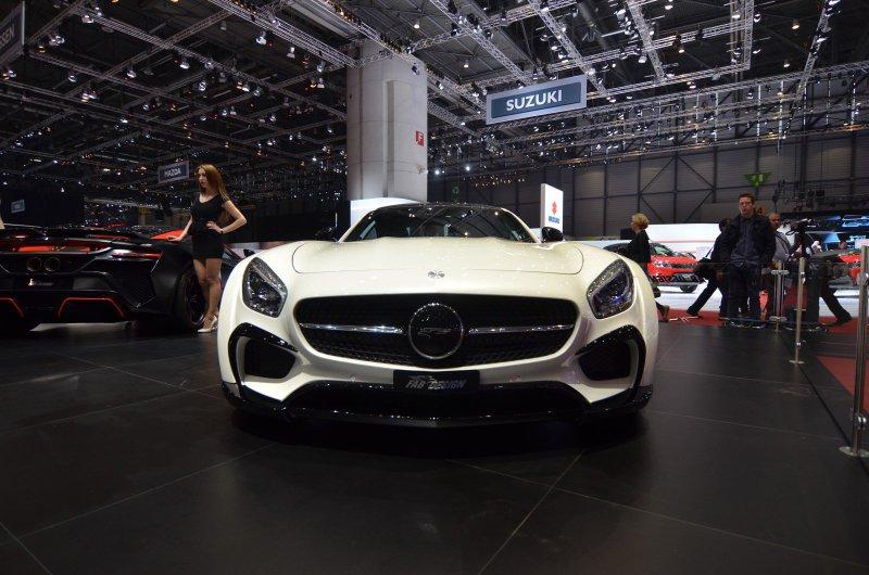 Женевский автосалон 2016: Mercedes-AMG GT S AREION от FAB Design