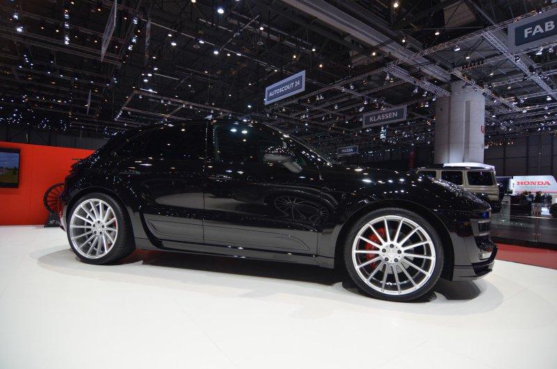 Женевский автосалон 2016: Porsche Macan от Hamann