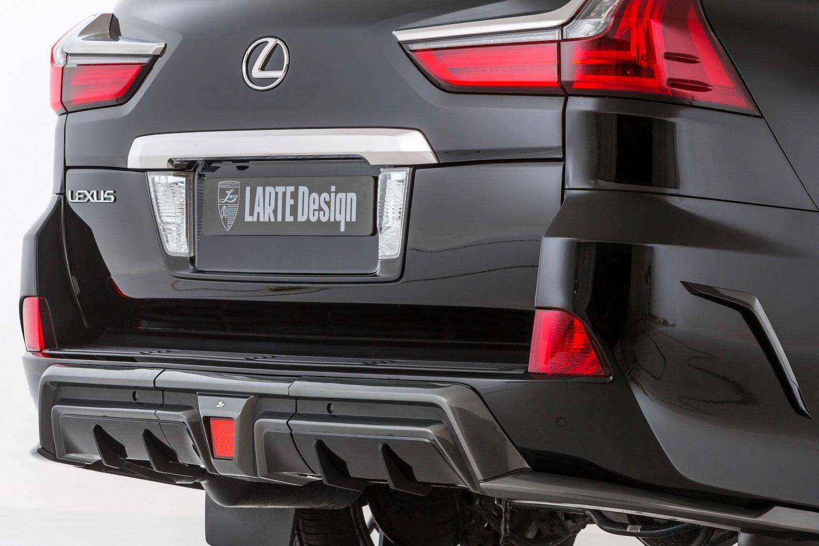Lexus LX от компании LARTE Design