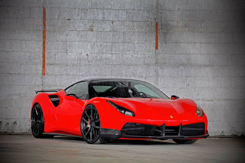 900-сильная Ferrari 488 GTB от VOS Performance