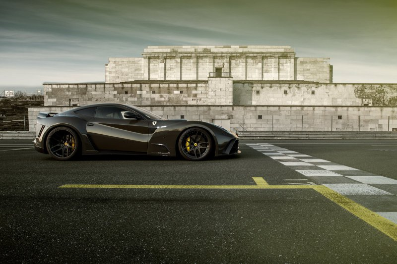 Ограниченная серия Ferrari F12 Rosso N-Largo S от Novitec