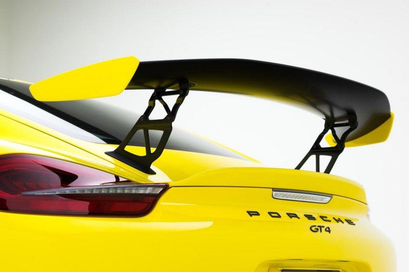 Porsche Cayman GT4 от Vorsteiner