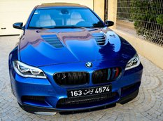 ����������� BMW F10 M5 �� Manhart