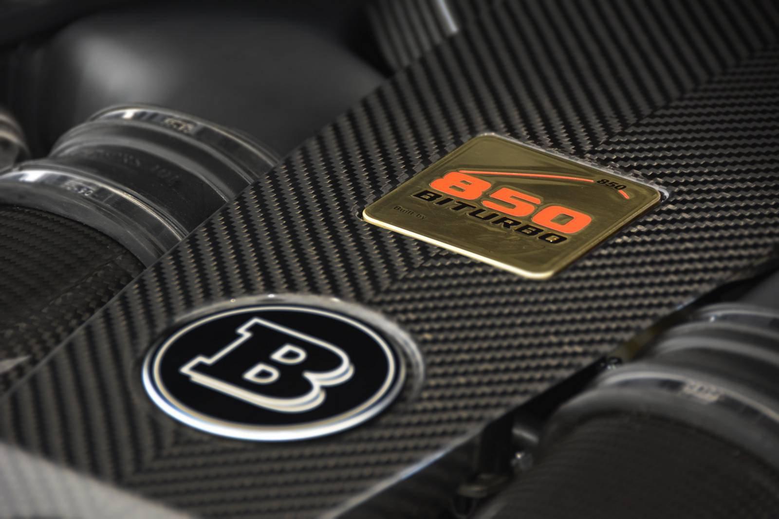 850-сильный Mercedes-AMG S63 Cabriolet от Brabus