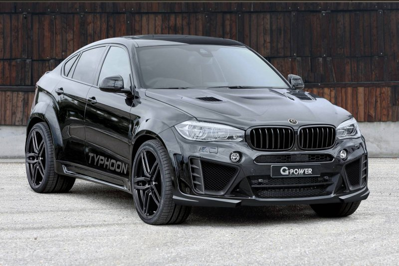 750-сильный BMW X6 M Typhoon от G-Power