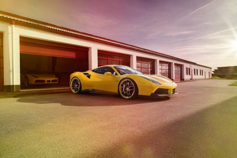 Ferrari 488 GTB от Novitec Rosso