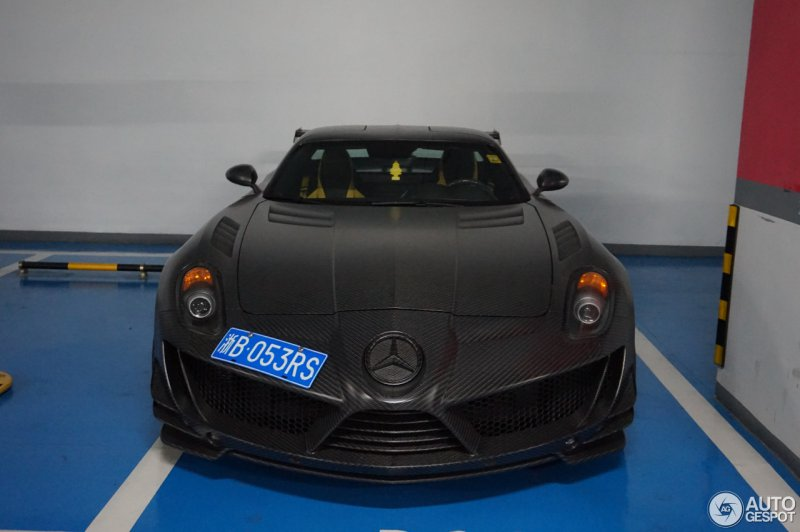 Редкий Mercedes-Benz SLS AMG от Mansory