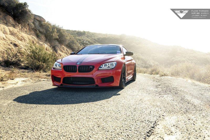 BMW M6 на дисках от Vorsteiner