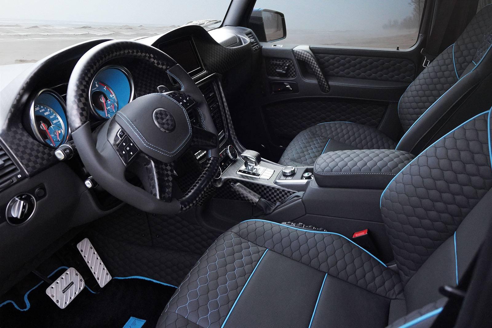 Mercedes-Benz G500 4×4² в исполнении Mansory