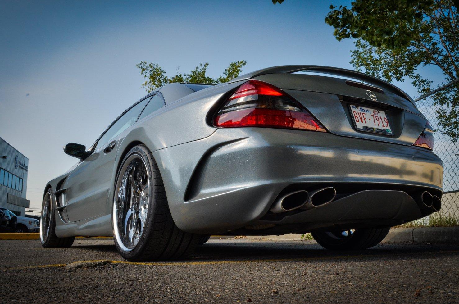 640-сильный Mercedes SL55 AMG в исполнении ZR Auto