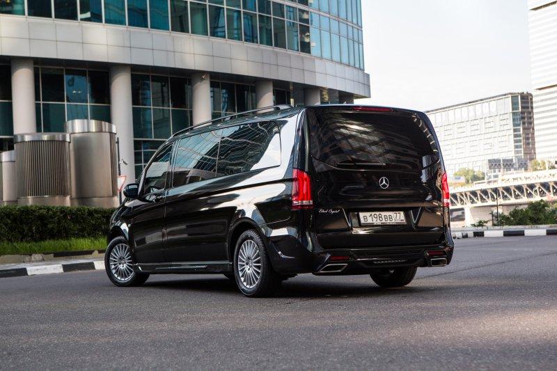 Mercedes V-class Black Crystal в исполнении Larte Design