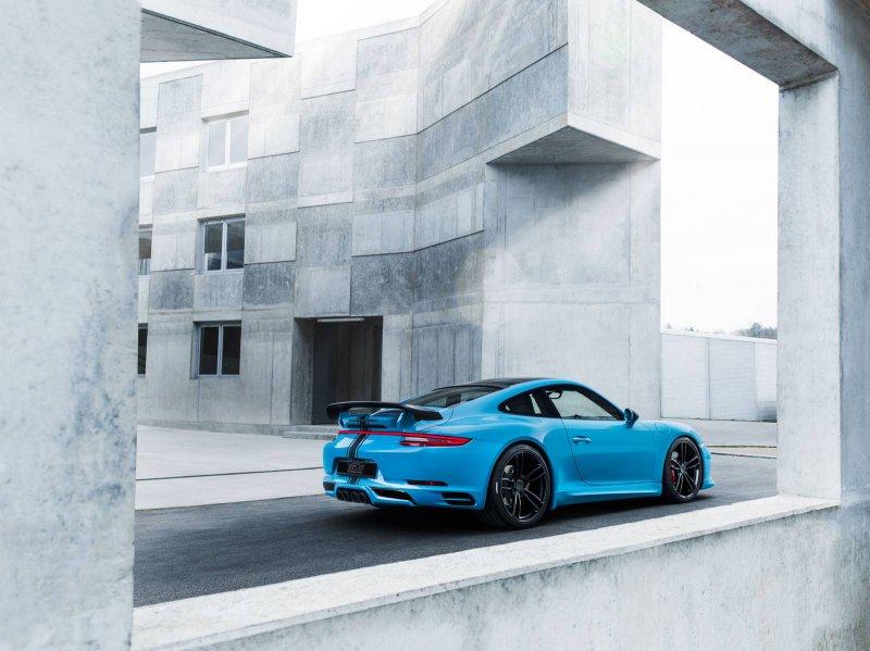 Тюнинг Porsche 911 от мастеров Techart