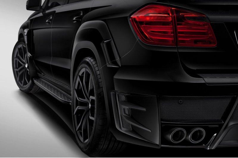 Mercedes Benz GL в тюнинге от LARTE Design