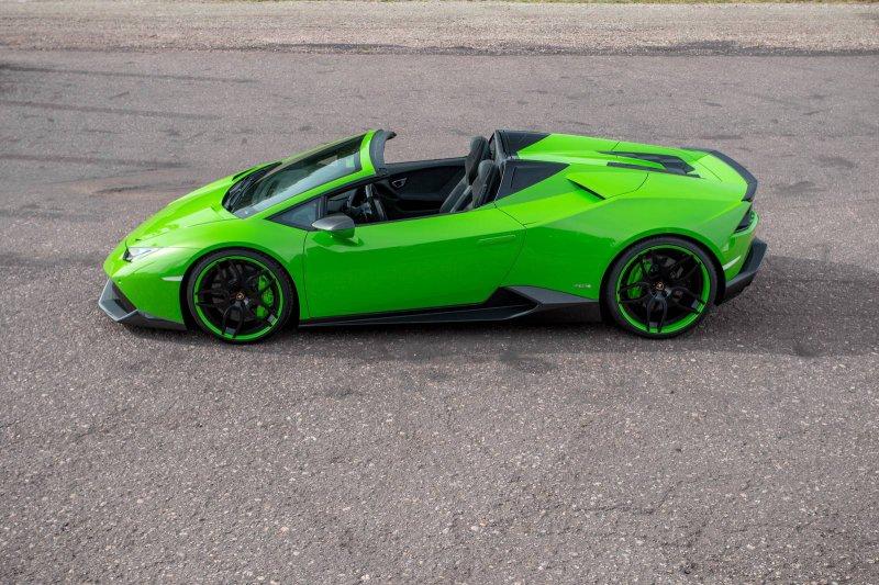 Lamborghini Huracan Spyder в исполнении Novitec Torado