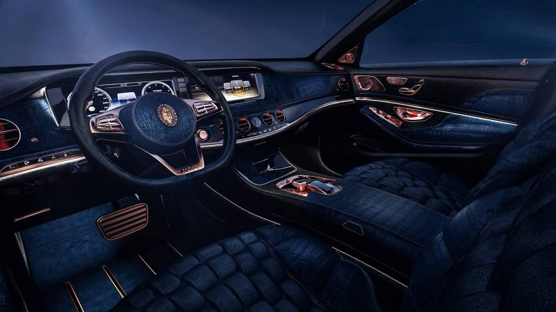 Mercedes-Maybach S600 за 1,5 млн $ от Scaldarsi Motors