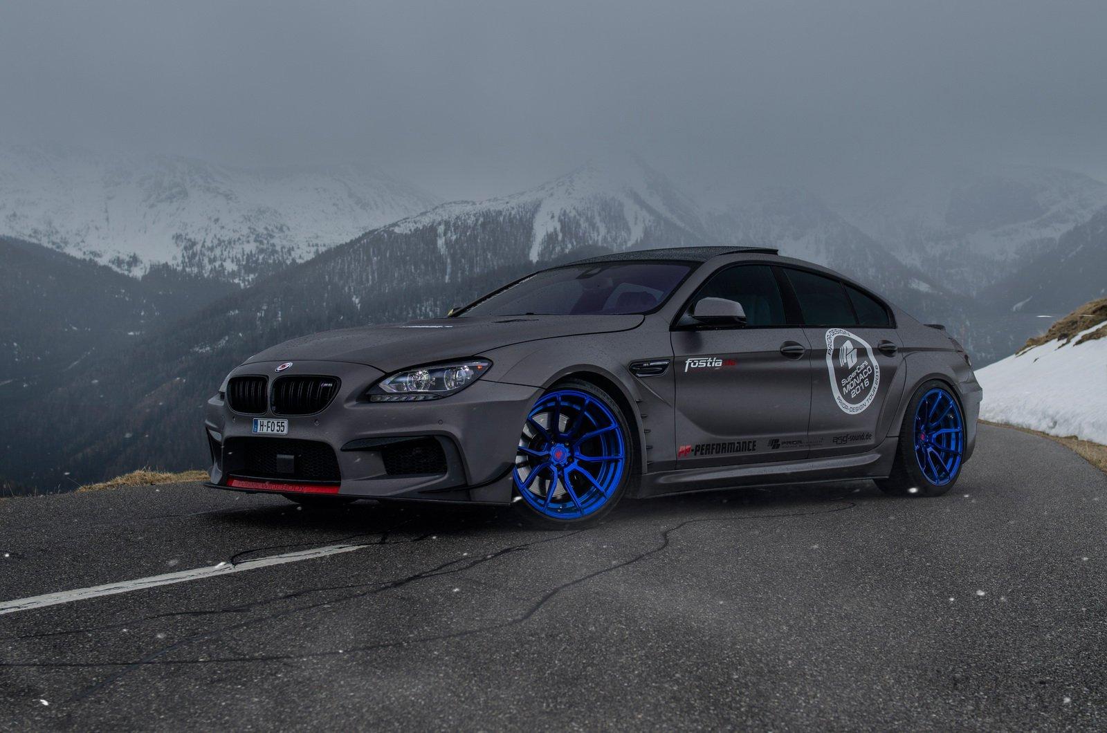 BMW 650ix Gran Coupe в исполнении Fostla