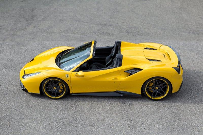 Ferrari 488 Spider от Novitec Rosso