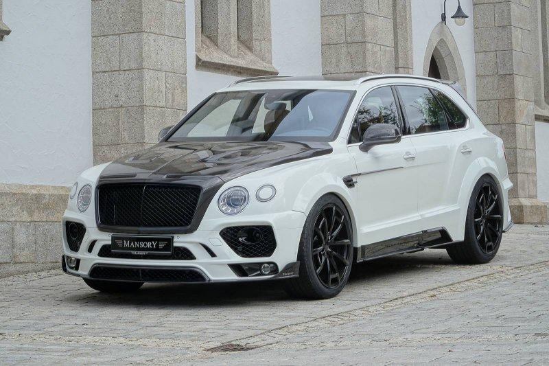 Bentley Bentayga от Mansory