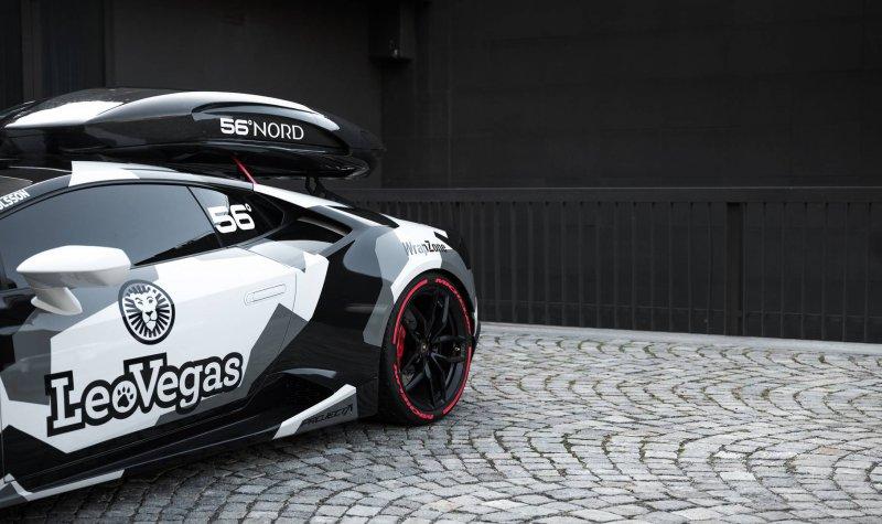 800-сильный Lamborghini Huracan от Jon Olsson