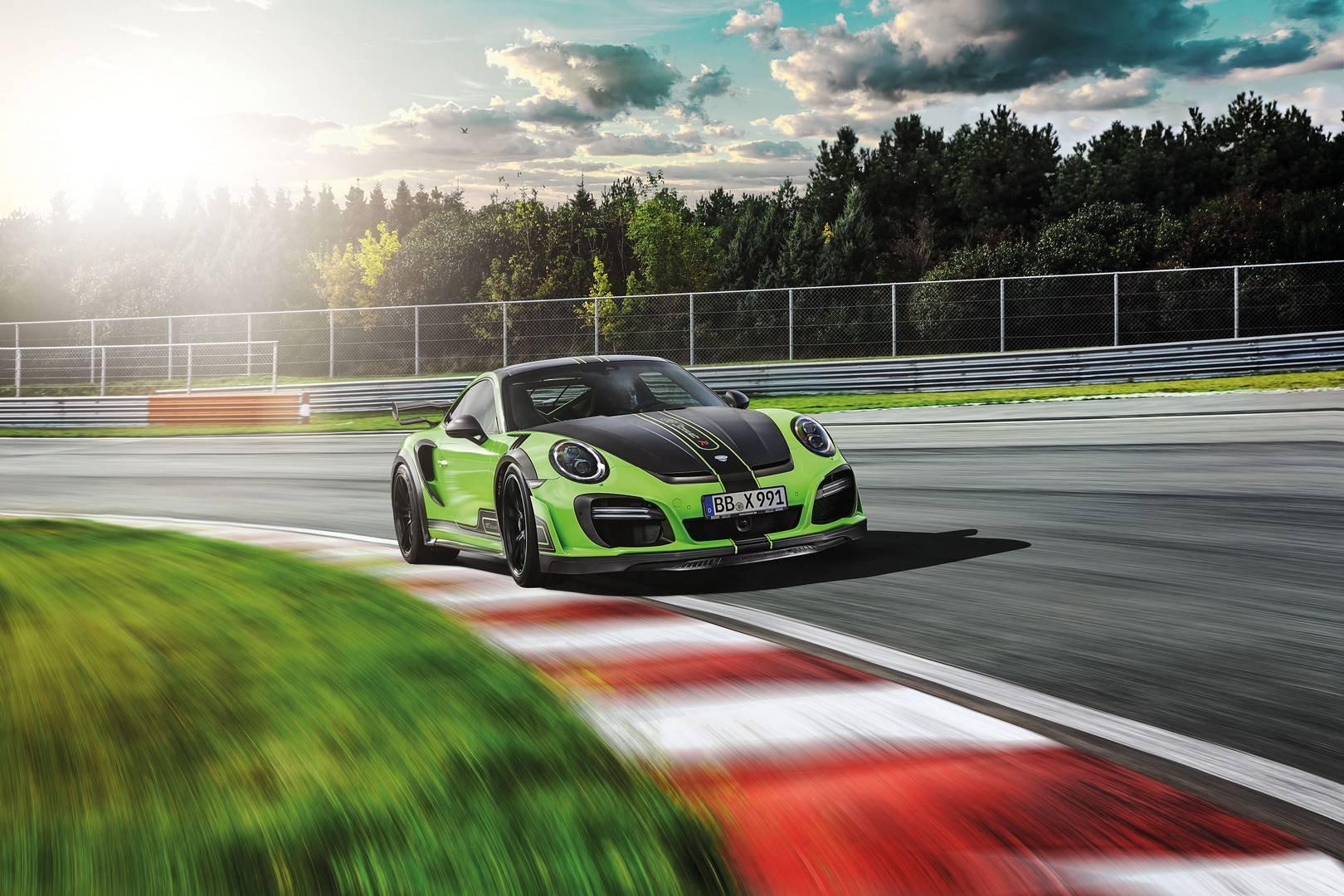 720-сильный Porsche 911 Turbo от Techart