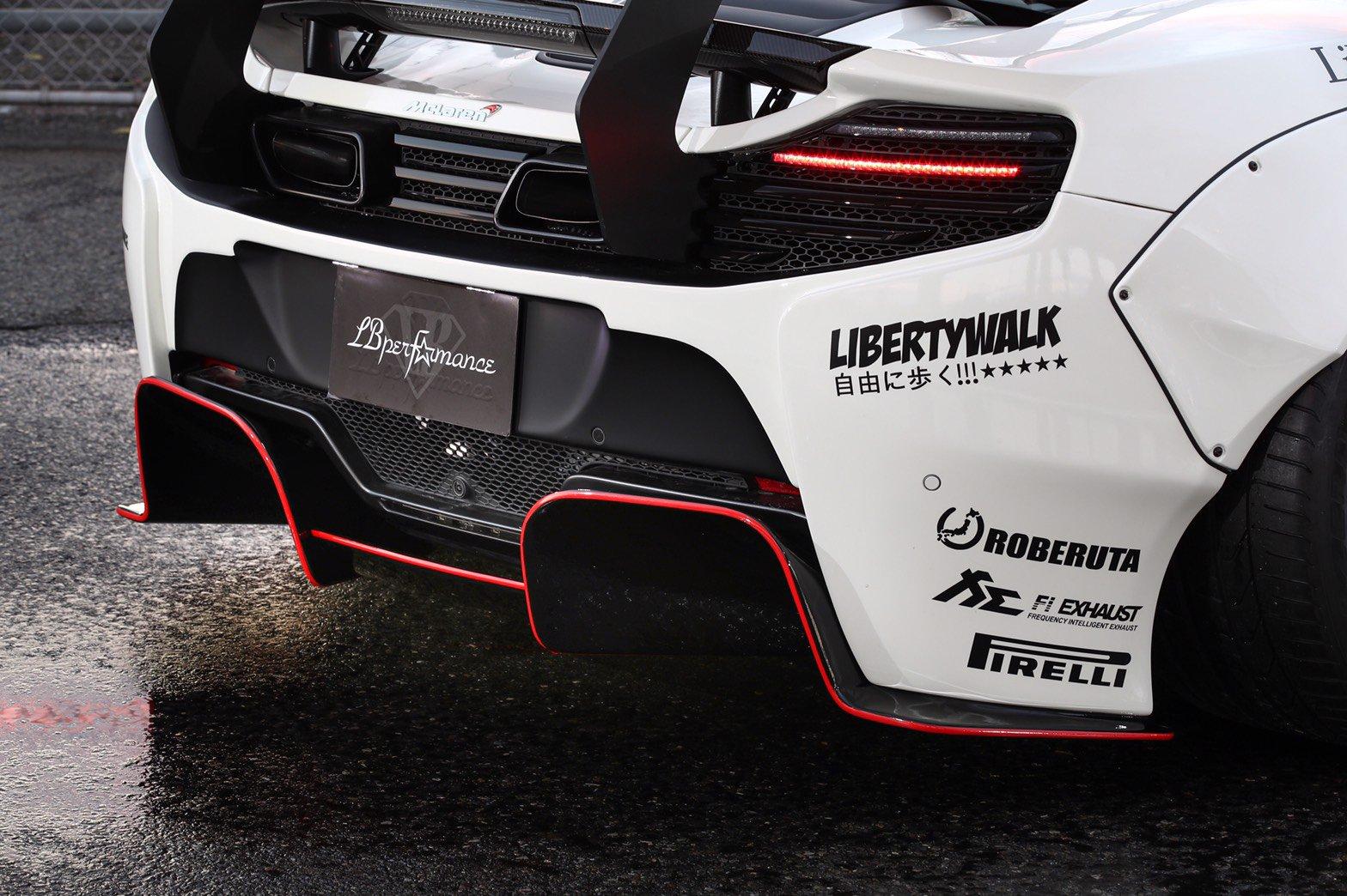 McLaren 650S от Liberty Walk