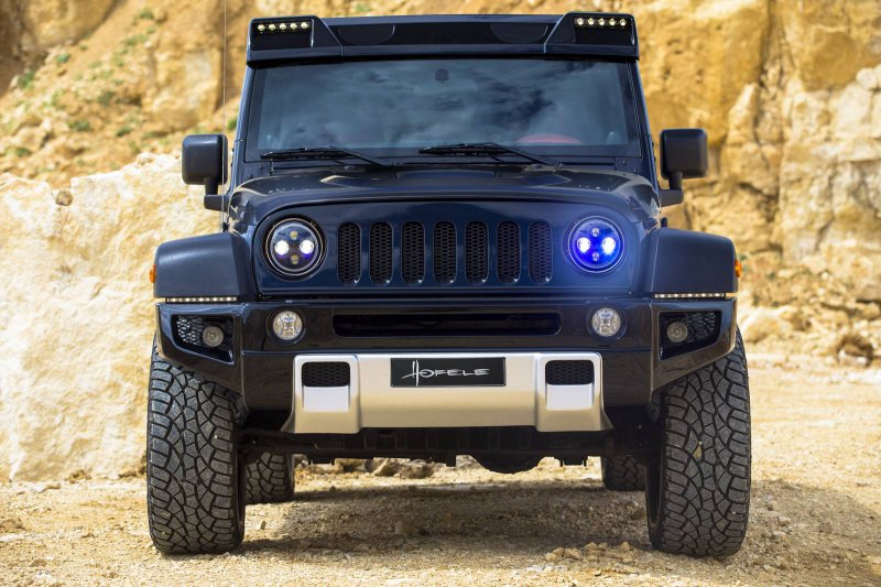 Jeep Wrangler в исполнении Hofele Design