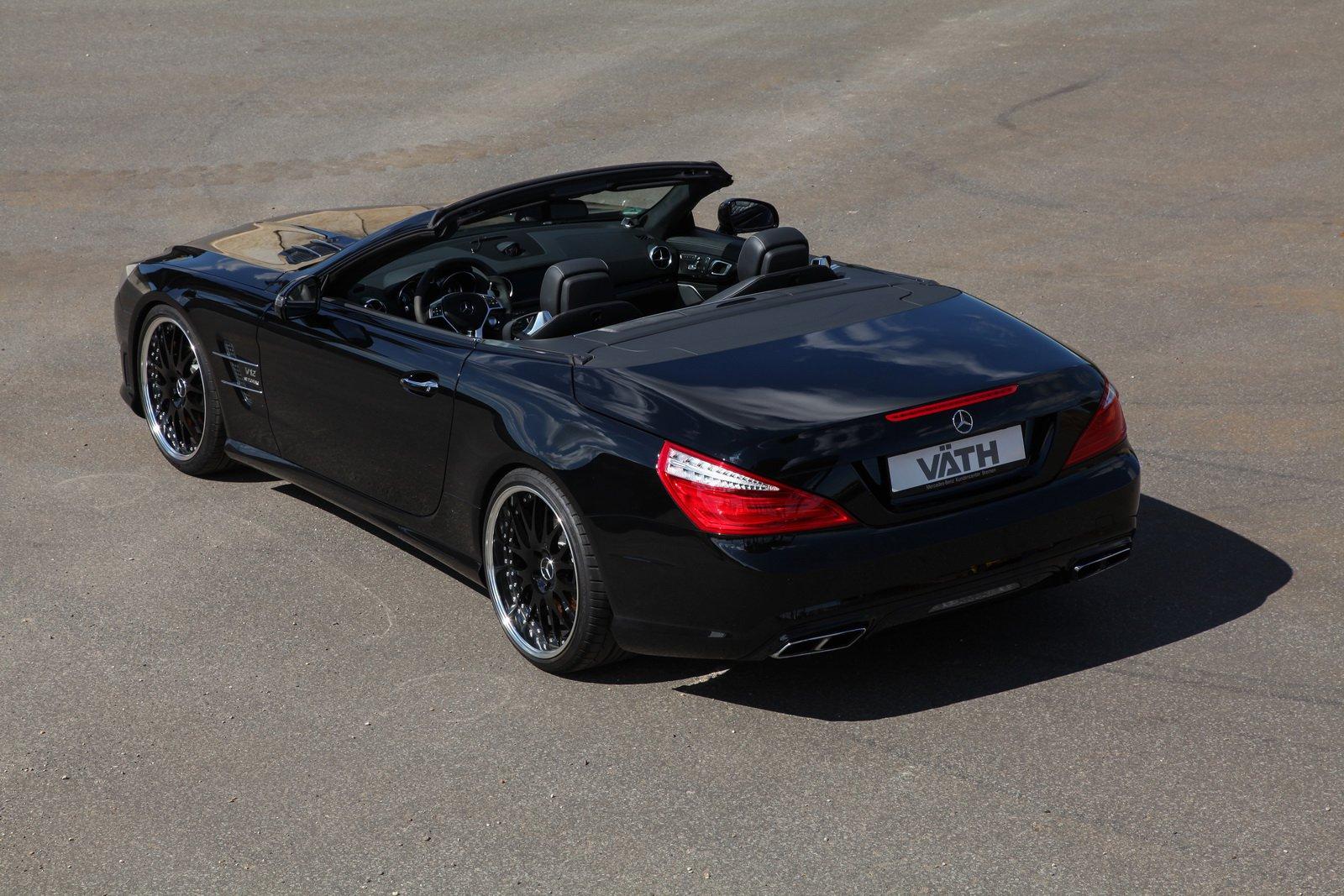 VATH добавил мощноти Mercedes-Benz SL 65 AMG