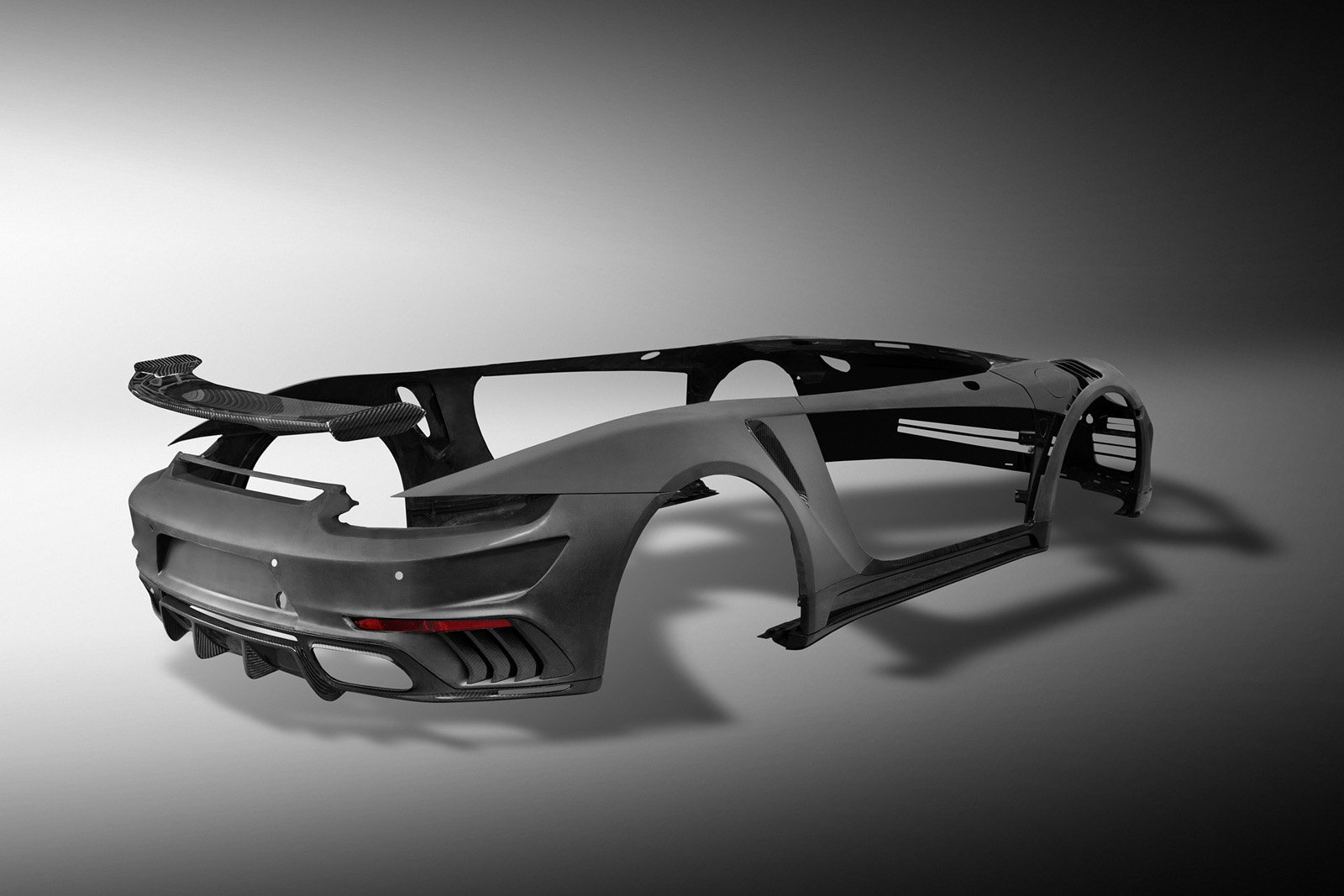 TopCar «переодели» Porsche 911 Turbo в карбон