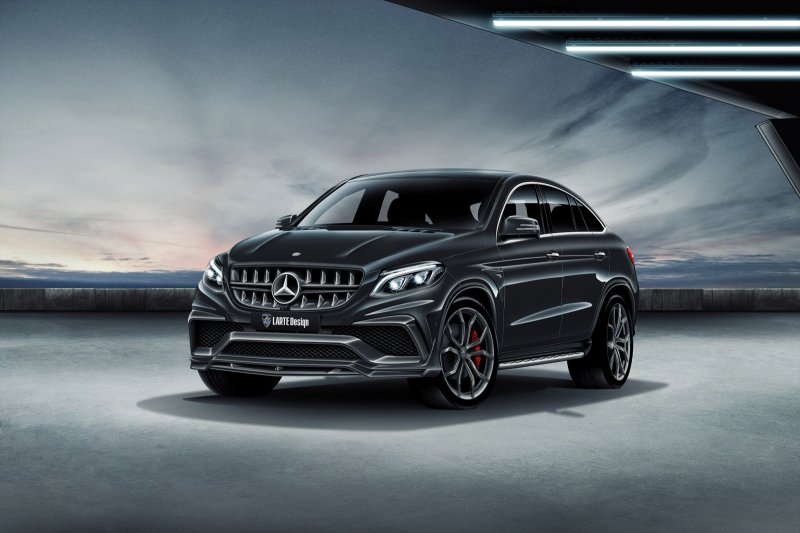 Mercedes GLE AMG Coupe от LARTE Design