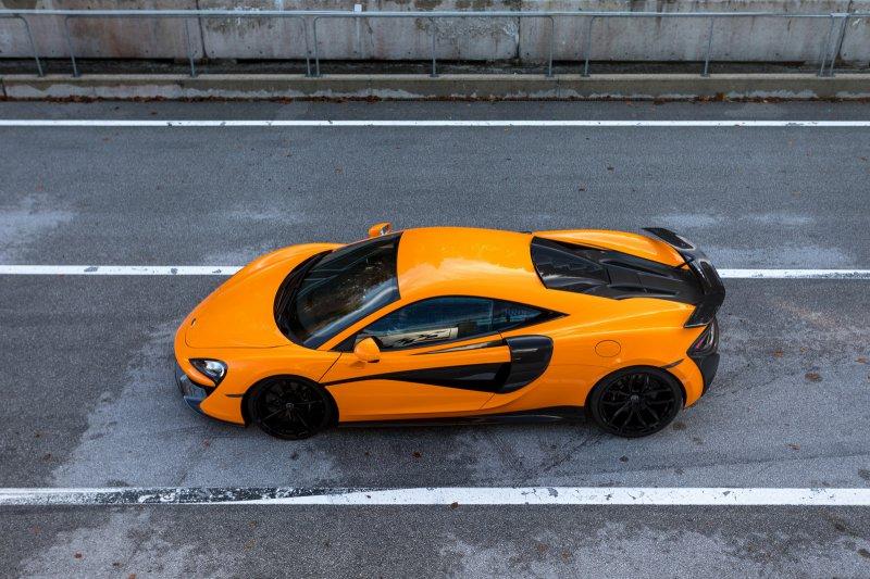 McLaren 570S от мастерской Novitec