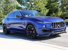 Maserati Levante с карбоновым комплектом от Larte Design