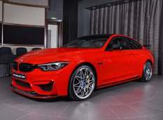 BMW M4 Competition Package из автоцентра в Абу-Даби