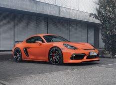 Porsche 718 со спортивным комплектом от TechArt