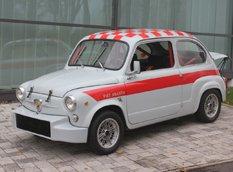 Seat выпустили гоночную модель 600 в честь её 60-летия