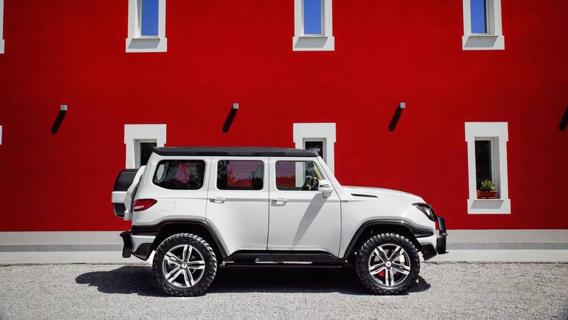 Обои внедорожник, 600 supercharged, ares design, range rover. Автомобили foto 9
