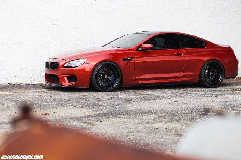 BMW M6 coupe с новым обвесом на дисках от HRE Wheels