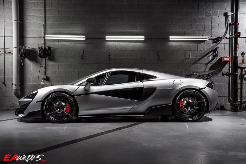 Линейка McLaren Sport Series в тюнинге 1016 Industries