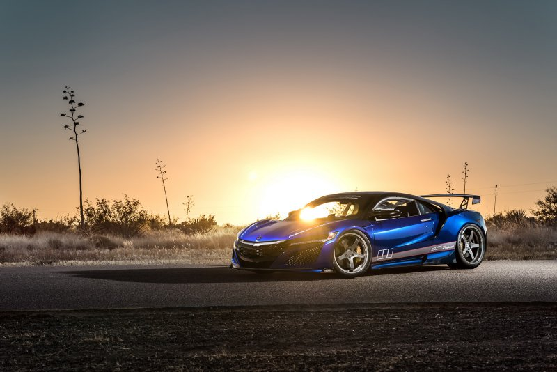 Acura NSX Dream Project в исполнении Science Of Speed
